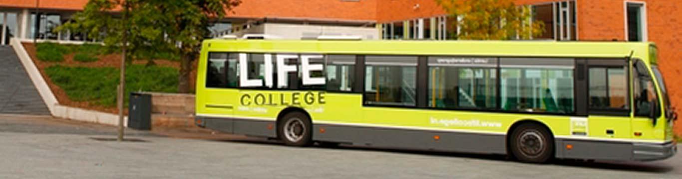 lentiz life college bus